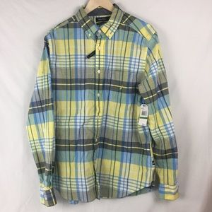 Nautica Classic Fit Stretch Long Sleeve Large